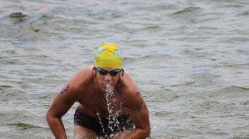La prueba en el mar que rindió el nadador Ignacio Botella