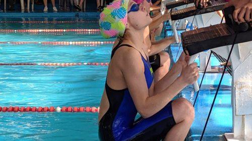 Guadalupe Bode, convencida en su dedicación a la natación