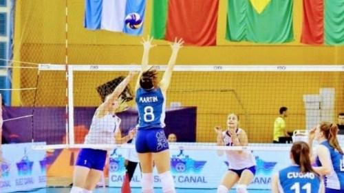 Guadalupe Martín concentrará con la Selección Argentina de Vóley femenino