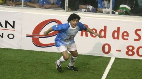 Murió Maradona: sus cuatro pasos por San Juan
