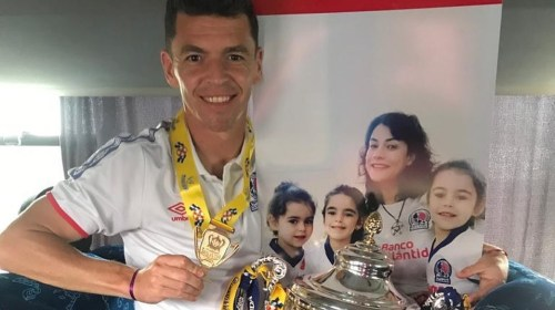Matías Garrido, campeón en Honduras