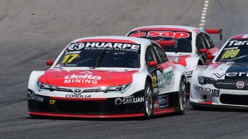 Flaqué, muy cerca del podio en el Top Race Series