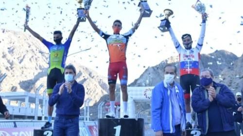 Nicolás Tivani, campeón de la temporada de ruta de San Juan