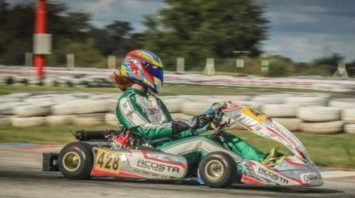 Juan Cruz Roca repitió la séptima ubicación en la Copa Rotax