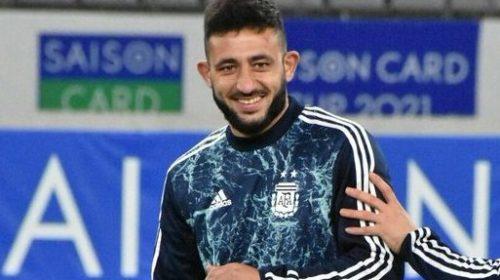 El «Monito» Vargas usó la 10 y metió una asistencia para la victoria de Argentina ante Japón
