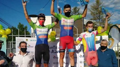 Nico Naranjo también festejó en la segunda etapa de la Vuelta de Alvear