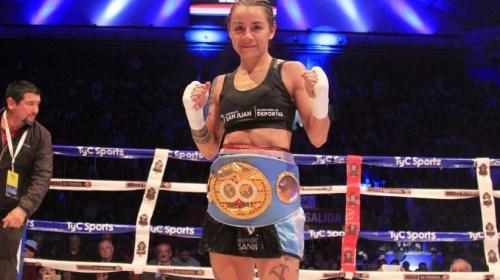 Cecilia Román: «Al principio tenía mucho miedo de subir al ring, con trabajo eso se olvida»