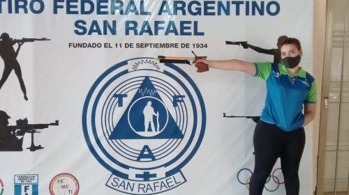 Lara Méndez y otra concentración nacional de tiro: «Fue una experiencia espectacular»