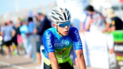 Mauricio Domínguez, el calingastino que anhela llegar a la elite del ciclismo