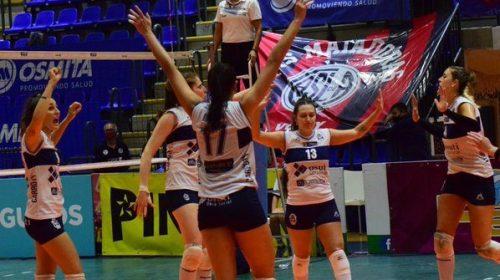 Candelaria Herrera y Lucía Bergé aportaron en el triunfo de Gimnasia que forzó un desempate