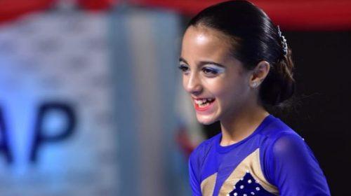 Joaquina De la Torre, multicampeona con solo 9 años y un gran futuro en el patinaje artístico