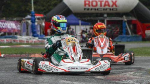 Juan Cruz Roca y la Copa Rotax: «Estoy contento con la experiencia»