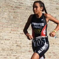 Daiana Frías, una triatleta de alto rendimiento que sueña ser olímpica
