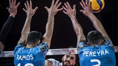 Federico Pereyra marcó 8 puntos en otra derrota de la selección de vóley