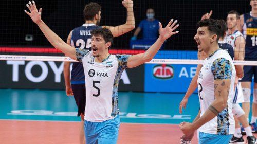 Bruno Lima fue el máximo anotador argentino en la derrota ante Italia
