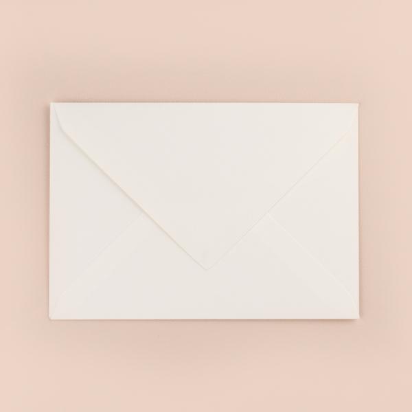 enveloppe blanche ivoire
