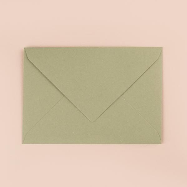 enveloppe pour thématique vert