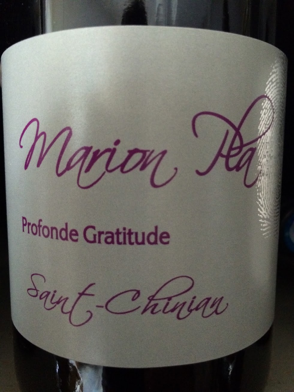 Profonde Gratitude - Rouge - 2014