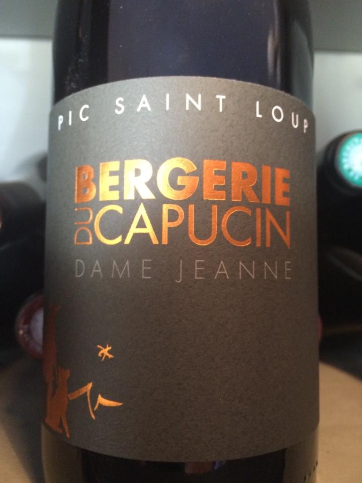 Bergerie du Capucin - Dame Jeanne - 2013 - Rouge