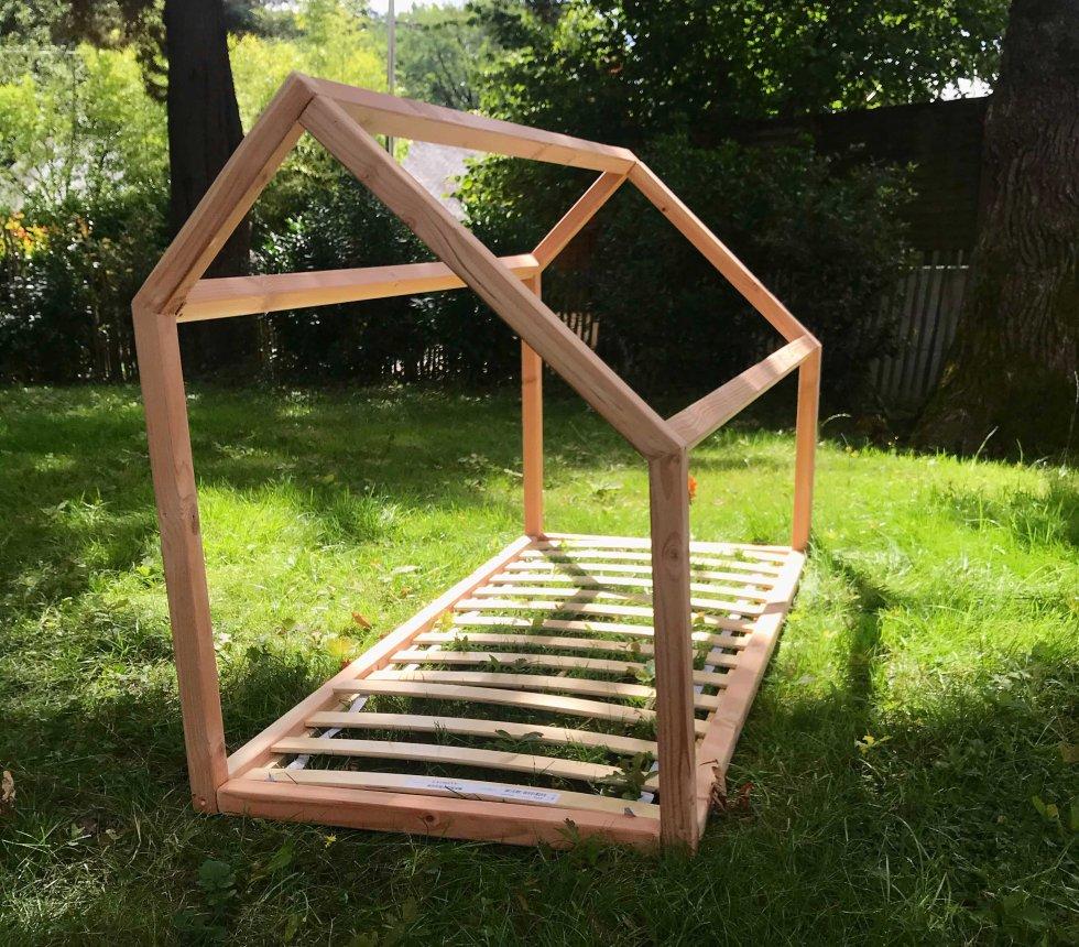 lit cabane petite mansarde