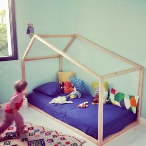 """Lit Montessori """"Grande Cabane"""" 90×190"""