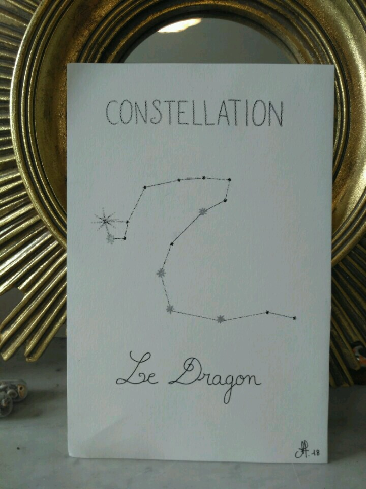 Inktober-la-constellation-du-dragon