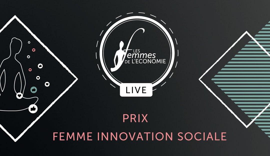 TROPHÉE DES FEMMES DE L'ÉCONOMIE POUR L'INNOVATION SOCIALE