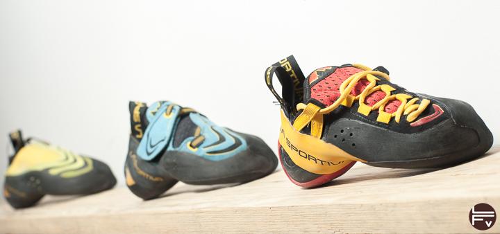Test des nouveaux chaussons Genius La Sportiva