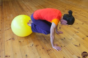 core-training-swiss ball