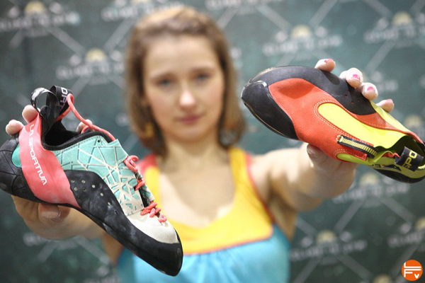 choisir-chaussons-escalade-ballerine-velcros-lacets