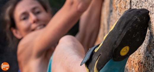 test de la ballerine python de la sportiva chausson escalade bloc