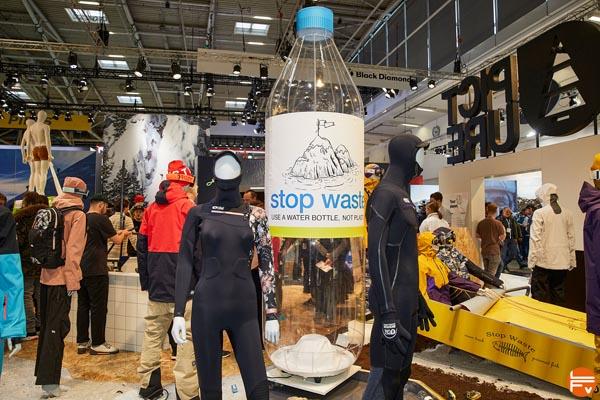 recyclage bouteilles plastique production textile ispo 2020