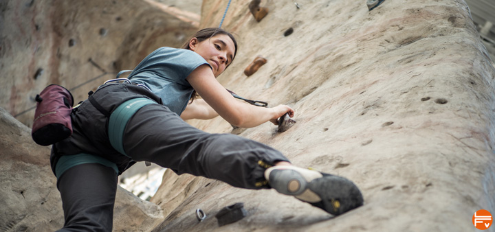 The InsideOut® Challenge - responsible outdoor climbing practices for indoor climbers_What_to_Wear_Climbing_Indoors