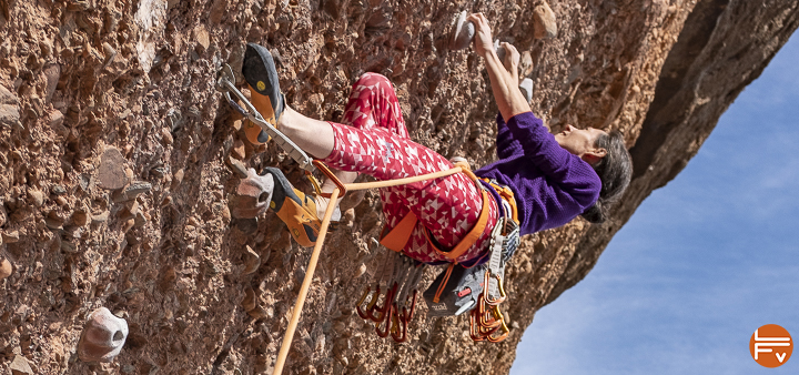 grimpeur falaise