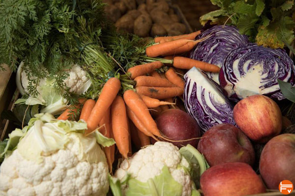 alimentation  fruits et legumes