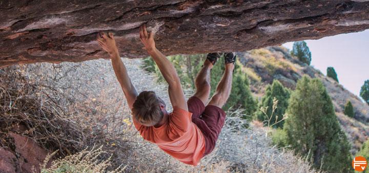 yoga contre-pointe escalade crochet de pointe