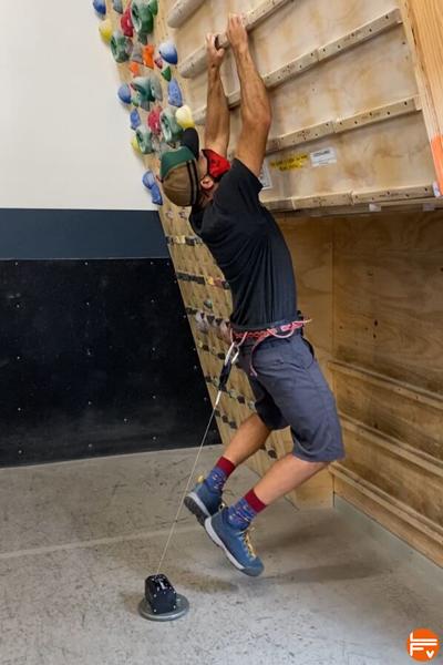 campus board climbing