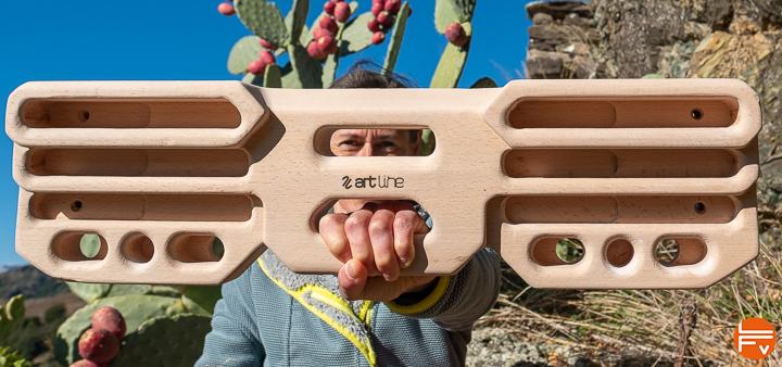 artboard artline poutre escalade en bois entrainement