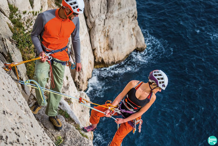 multipitch routes climbing
