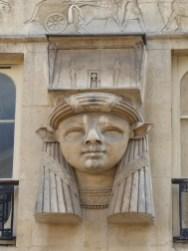 Tête d'Hathor (retour d'Égypte)