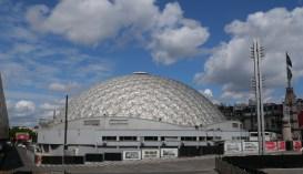 Vue d'est (P. Dufau & R. Buckminster Fuller)