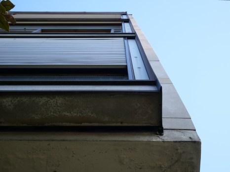 Épaisseur du pan vitré (Le Corbusier)