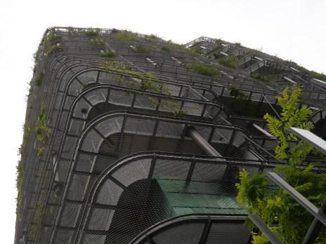 Perspective de balcons de Miss Green (Edouard François).
