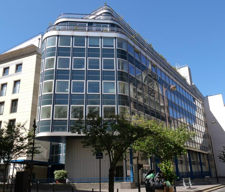 Vue générale du bâtiment (J. Balladur)