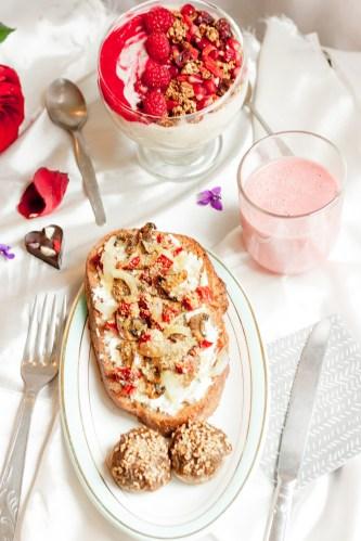 Brunch des amoureux {vegan, sans gluten, IG réduit} | www.lafaimestproche.com