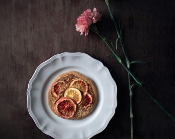 Pancakes aux oranges sanguines