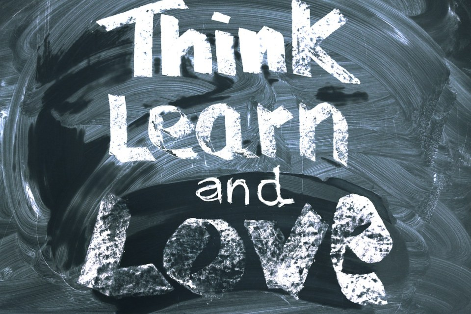 think learn and love