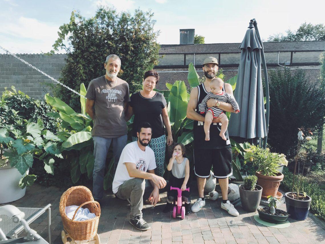 Famille cousins oncle Belgique
