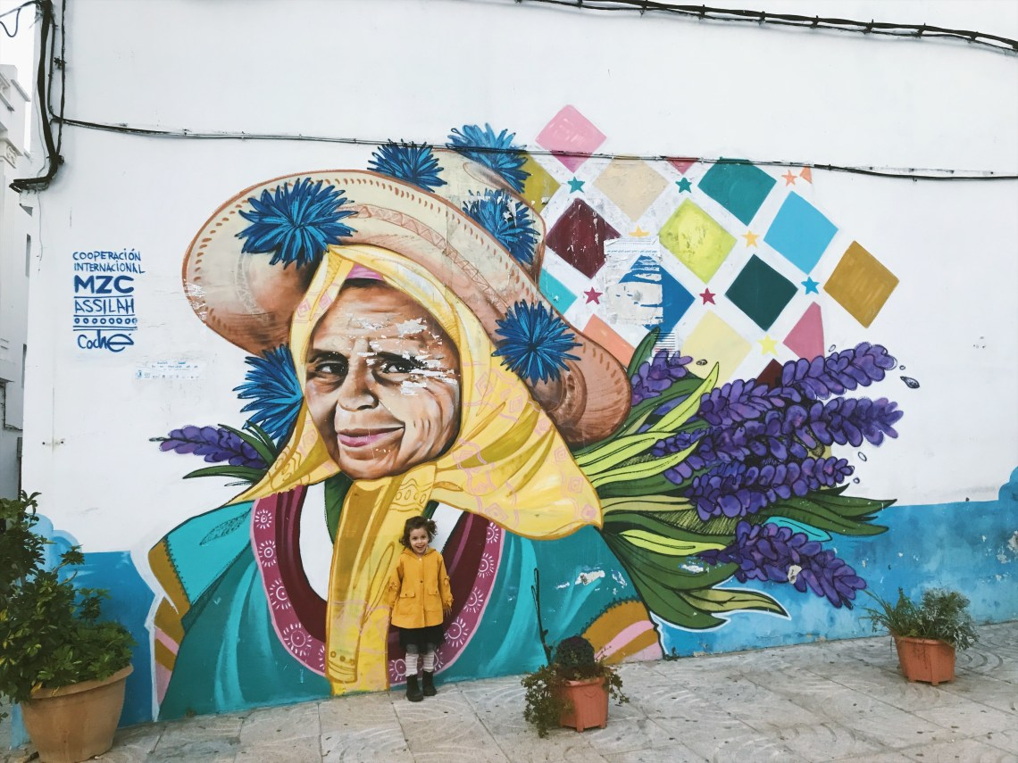 Street art à Assilah au Maroc