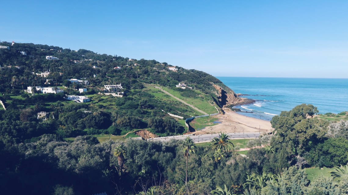 Tanger camping miramonte vue panoramique